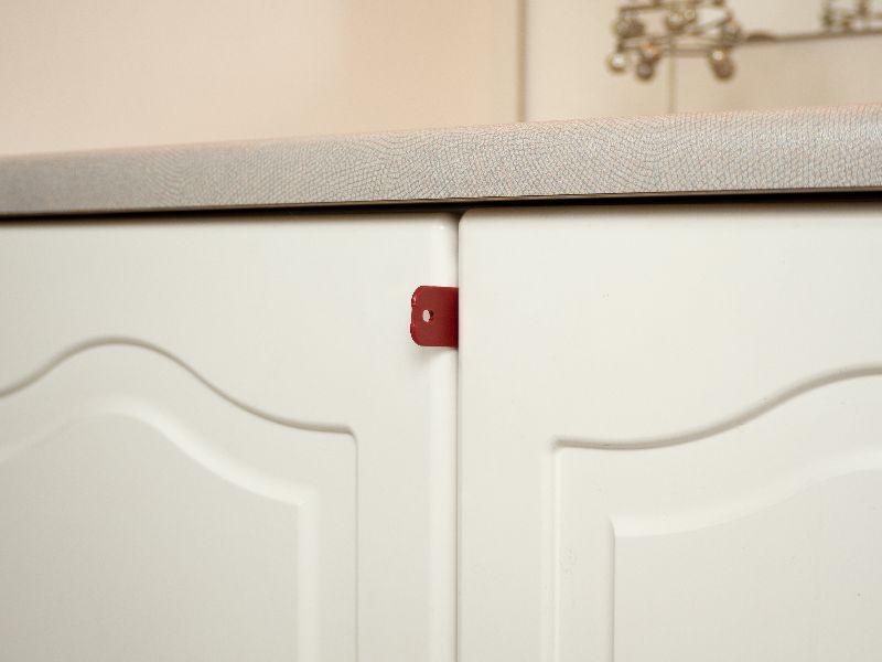 Double Cabinet Door Lock simple